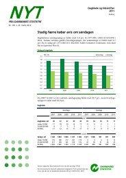 Nyt: Dagblade og tidsskrifter 2011 - Danmarks Statistik