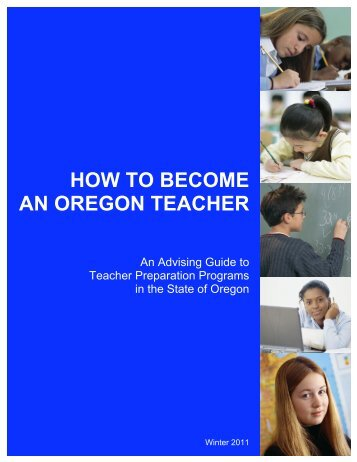 HOW TO BECOME AN OREGON TEACHER - Willamette University