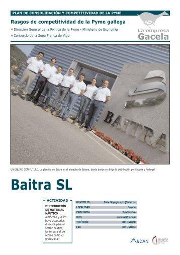Reportaje: BAITRA, S.L. - Ardan