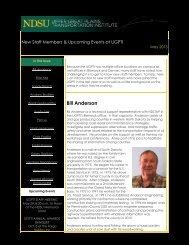 UGPTI Staff Newsletter (May 2013) - (UGPTI) - Home