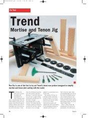 Mortise and Tenon Jig