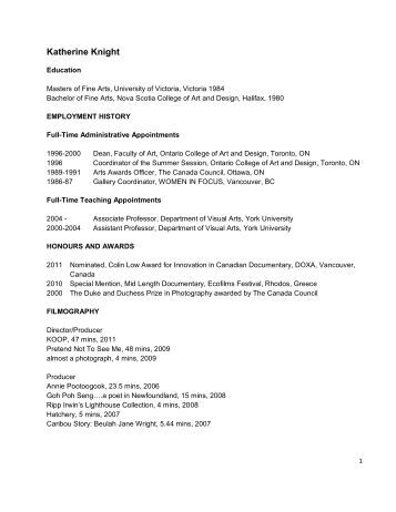 curriculum vitae help canada - Canadian Sample Resume