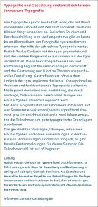 Jahreskurs Typografie - Gorbach - Seite 3