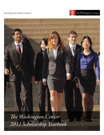 Download the yearbook - The Washington Center