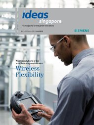 Wireless Flexibility - Siemens