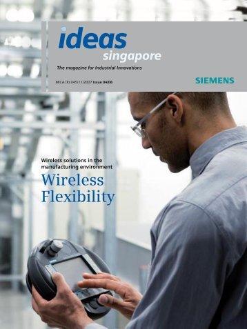 Wireless Flexibility - Siemens