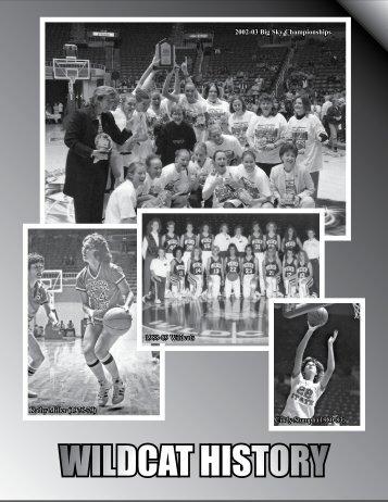 WILDCAT HISTORY - Weber State University Athletics