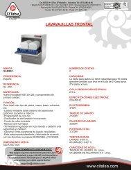 lavavajillas sammic sp 350 (frontal) - Citalsa