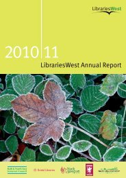 LibrariesWest Annual Report 2...