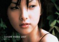 Programme saison vidéo 2007 #31