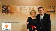 Sanremo 2013 – 1^ serata – Analisi (.pdf)