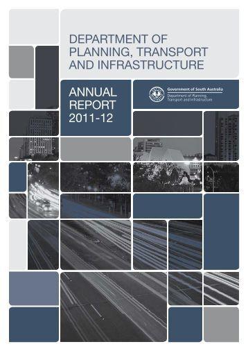 2012 Annual Report - DPTI - SA.Gov.au