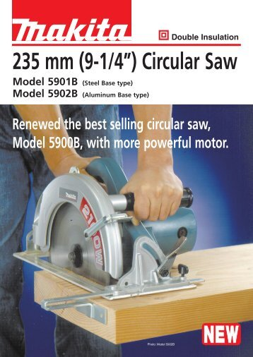 "235 mm (9-1/4"") Circular Saw - Makita"