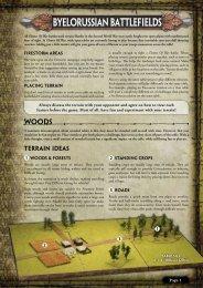 Download the Firestorm-Bagration terrain guide ... - Flames of War
