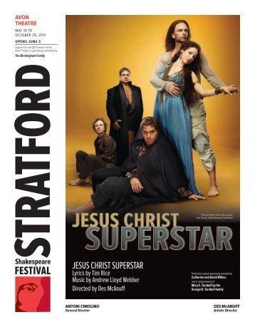 jesus Christ superstar - Stratford Festival