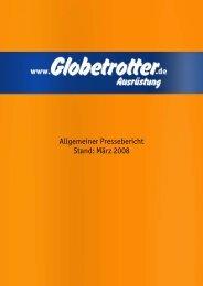 Allgemeiner Pressebericht Stand: März  2008 - Globetrotter