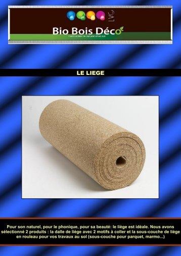 LE LIEGE - Bio Bois Deco