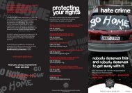 Hate Crime - Police Service of Northern Ireland