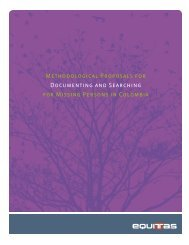 Methodological Proposals for Documenting and Searching for ...