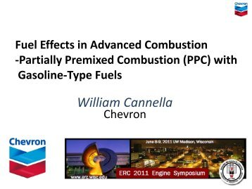 Fuel Effects in Advanced Combustion