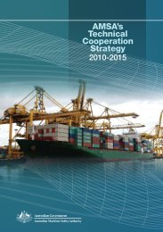 AMSA's Technical Cooperation Strategy - Australian Maritime Safety ...