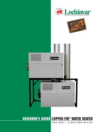 guide copperfin water heater lochinvar - Lochinvar Water Heater