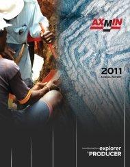 2011 Annual Report - AXMIN Inc.