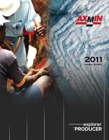 2011 Annual Report - AXMIN Inc.