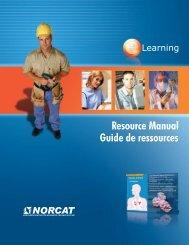 Resource Manual Guide de ressources - NORCAT