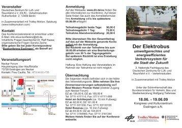 Der Elektrobus - TrolleyMotion