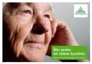 Älter werden mit schönen Aussichten. - Pro Senectute Kanton Bern