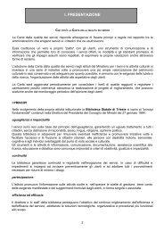 i. presentazione - Biblioteca Statale Stelio Crise di Trieste - Ministero ...