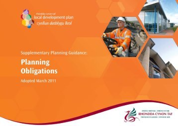 4. LDP planning obligations 2011_Layout 1 - Rhondda Cynon Taf