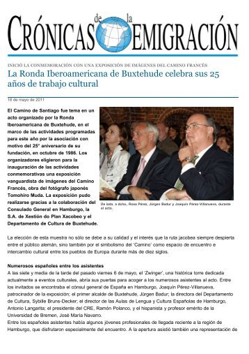 La Ronda Iberoamericana de Buxtehude celebra ... - Ursula Pfennig