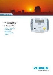 Wärmezähler Kältezähler - Zenner