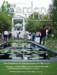 enhancing life with plants - Birmingham Botanical Gardens