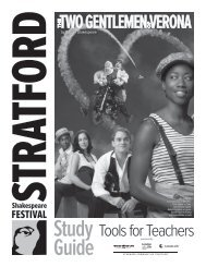 Study Guide - Stratford Festival