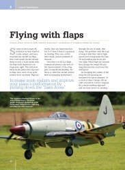 Flying with flaps - Model Airplane News