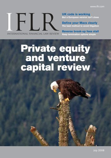 Private equity and venture capital review UK code is ... - IFLR.com