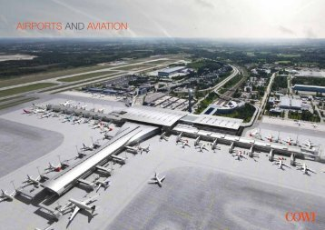 Airports and aviation (pdf) - Cowi