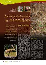 les mammifères - Natagora