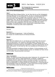 Die Todesstrafe ist angemessen - WDR 5