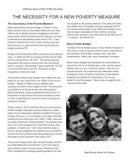 report essay - New Mexico Voices for Children