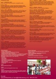 Kontakt: www.strefaorientu.pl, biuro@strefaorientu ... - Holiday Travel