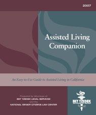 Assisted Living Companion - Bet Tzedek