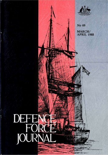 ISSUE 69 : Mar/Apr - 1988 - Australian Defence Force Journal