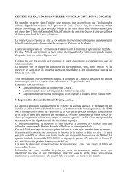 1 GESTION DES EAUX DANS LA VILLE DE NOVIGRAD-CITTANOVA