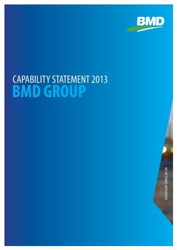 BMD Group Capability Statement