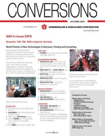 W&H In-house EXPO - Windmoeller & Hoelscher