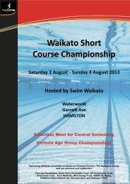 Waikato Short Course Championship Flyer.pdf - Swimming Waikato
